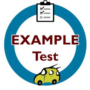 DMV Test Example1