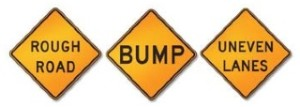 J7 Rough Road, Bump, or Uneven Lanes